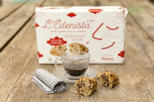 Brioche al cioccolato Edenista di Paluani